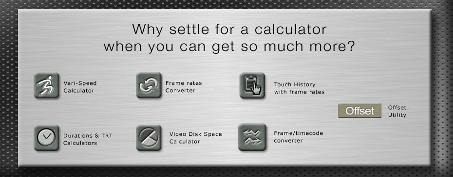 KPL Studios - iTC Calc, the timecode toolkit for filmmakers